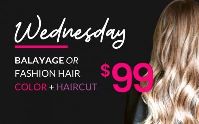 Wednesday $99 Balayage Offer