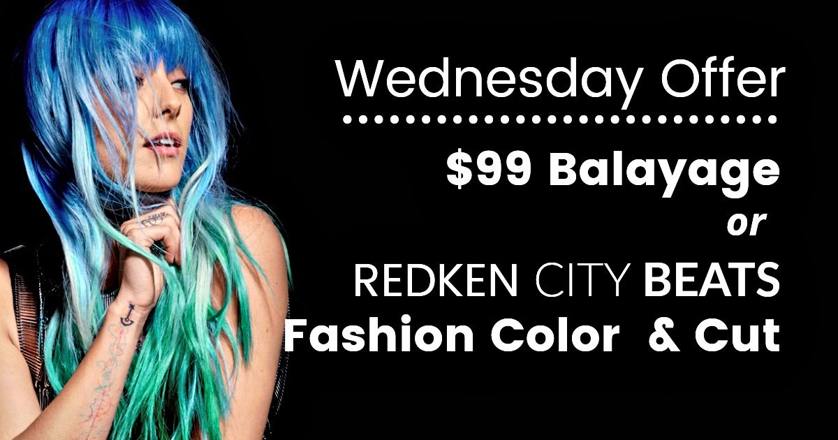 Wednesday Balayage Offer