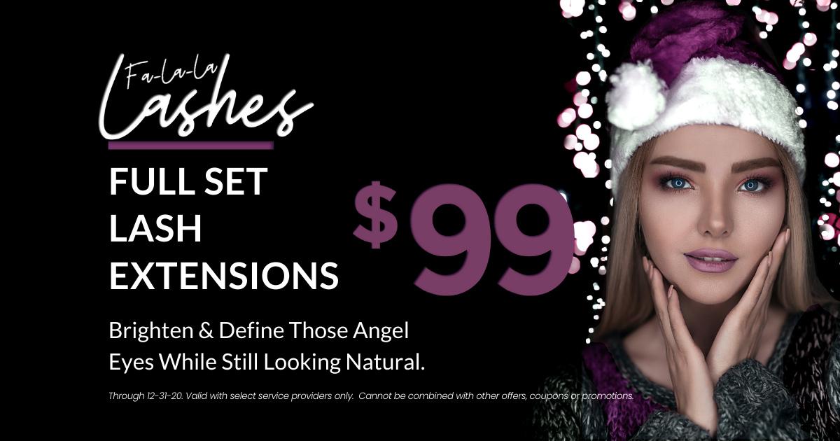 $99 Lash Extensions OKC