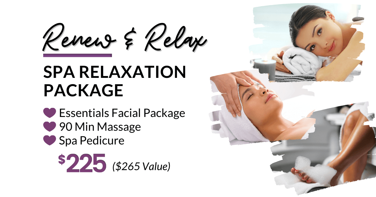 Spa Relaxation Package Special