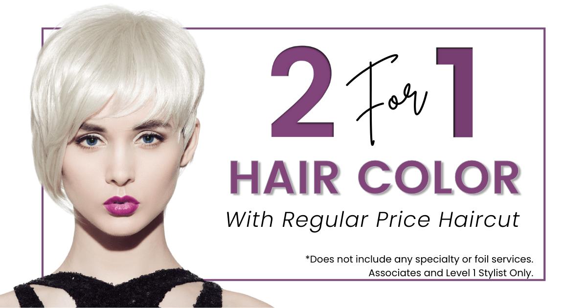 salon service promo okc hair color summer 2021
